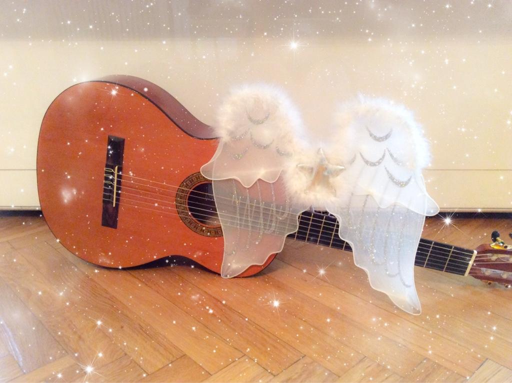 Gitarre mit Flügerl