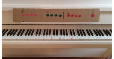 Klavier-Akkorde