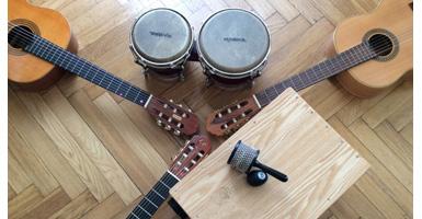 Percussion-Gitarre